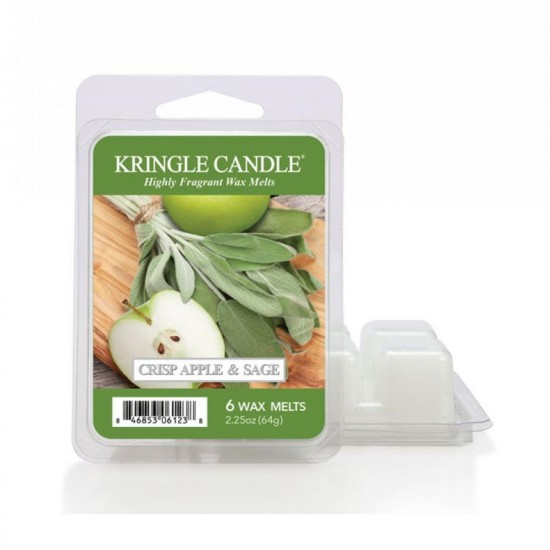 Wosk zapachowy Crisp Apple & Lime Kringle Candle