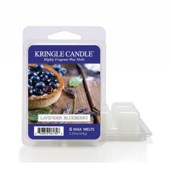 Wosk zapachowy Lavender Blueberry Kringle Candle