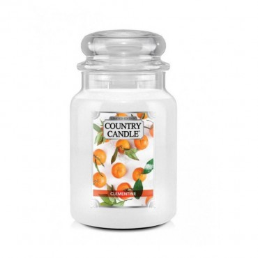 Duża świeca Clementine Country Candle