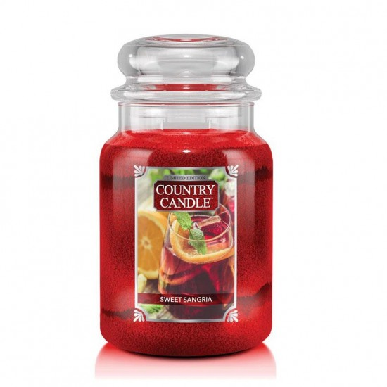 Duża świeca Sweet Sangria Country Candle