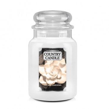Duża świeca Vintage Gardenia Country Candle