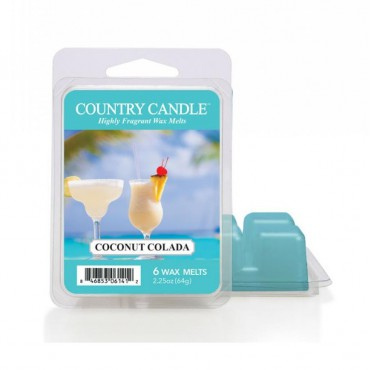 Wosk zapachowy Coconut Colada Country Candle
