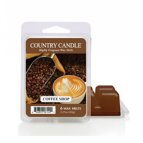 Wosk zapachowy Coffee Shop Country Candle