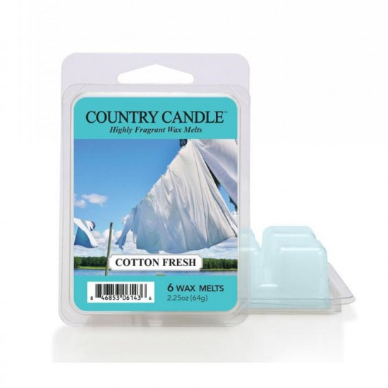 Wosk zapachowy Cotton Fresh Country Candle