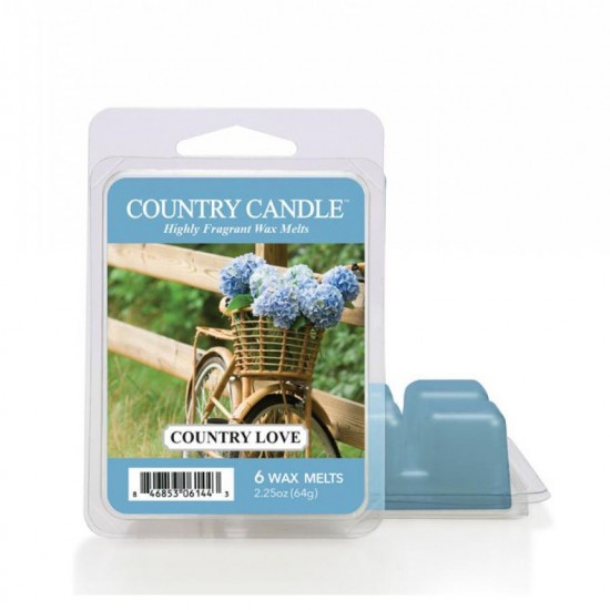 Wosk zapachowy Country Love Country Candle