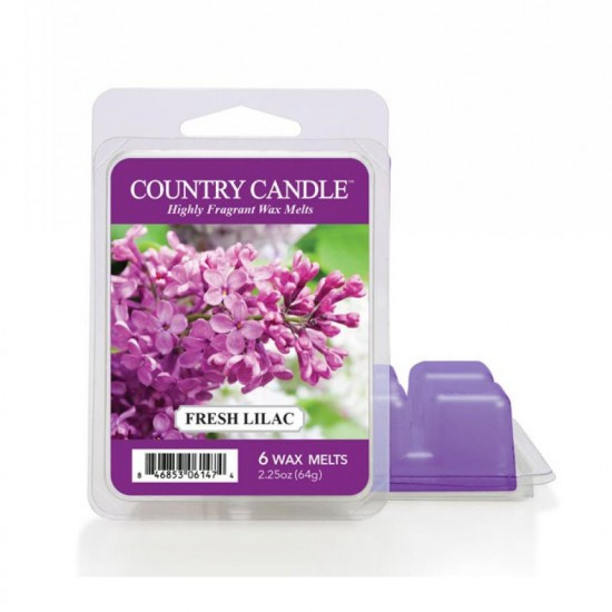 Wosk zapachowy Fresh Lilac Country Candle