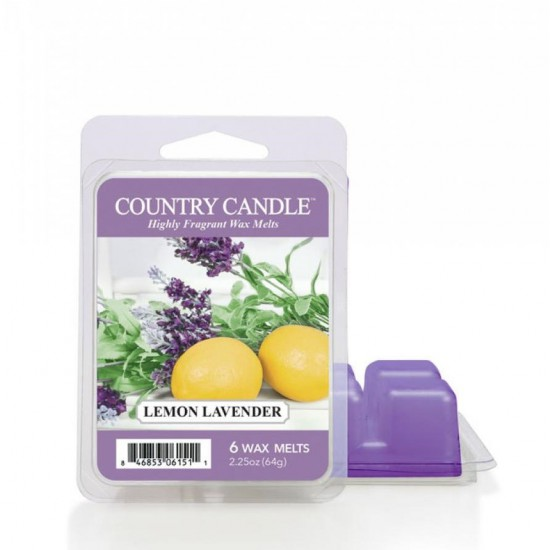 Wosk zapachowy Lemon Lavender Country Candle