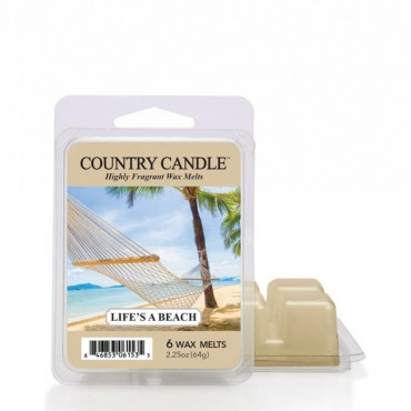 Wosk zapachowy Life's Beach Country Candle