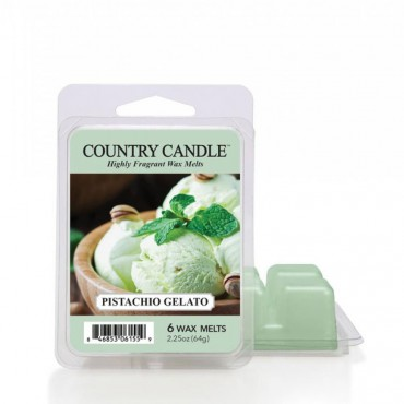 Wosk zapachowy Pistachio Gelato Country Candle
