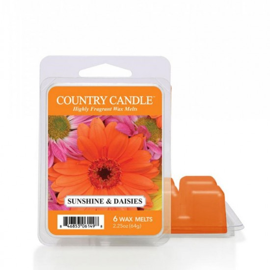 Wosk zapachowy Sunshine & Daisies Country Candle