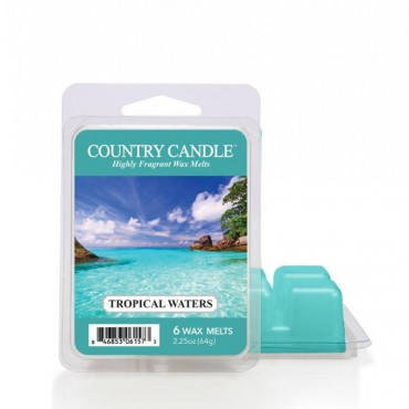 Wosk zapachowy Tropical Waters Country Candle