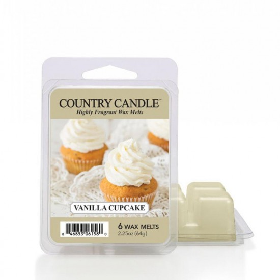 Wosk zapachowy Vanilla Cupcake Country Candle