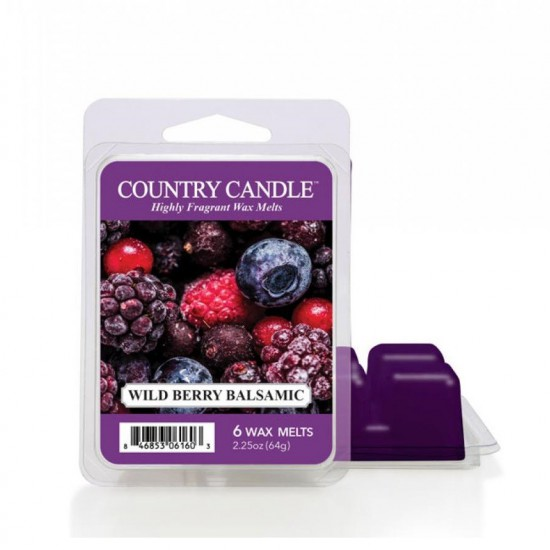 Wosk zapachowy Wild Berry Balsamic Country Candle