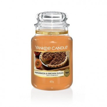 Duża świeca Persimmon & Brown Sugar Yankee Candle