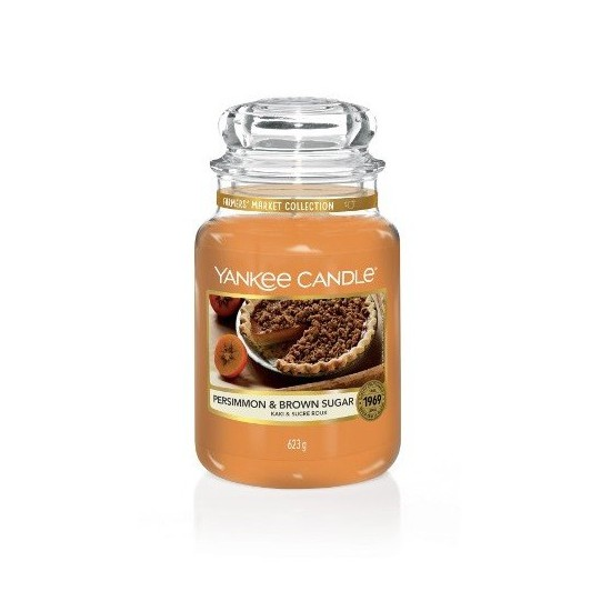Duża świeca Persimmon & Brown Sugar Yankee Candle
