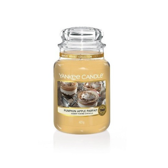 Duża świeca Pumpkin Apple Cream Yankee Candle