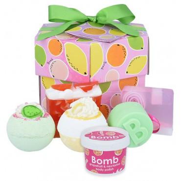 Zestaw upominkowy OWOCOWY KOSZYCZEK Bomb Cosmetics