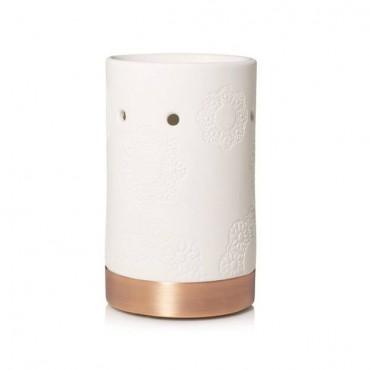 Floral Ceramic kominek do wosków Yankee Candle