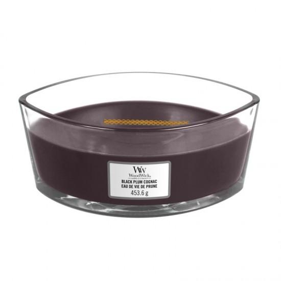 Świeca Hearthwick Black Plum Cognac WoodWick