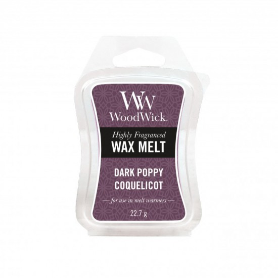 Wosk Dark Poppy WoodWick