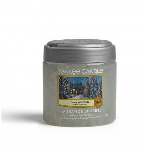 Kuleczki zapachowe Candlelit Cabin Yankee Candle