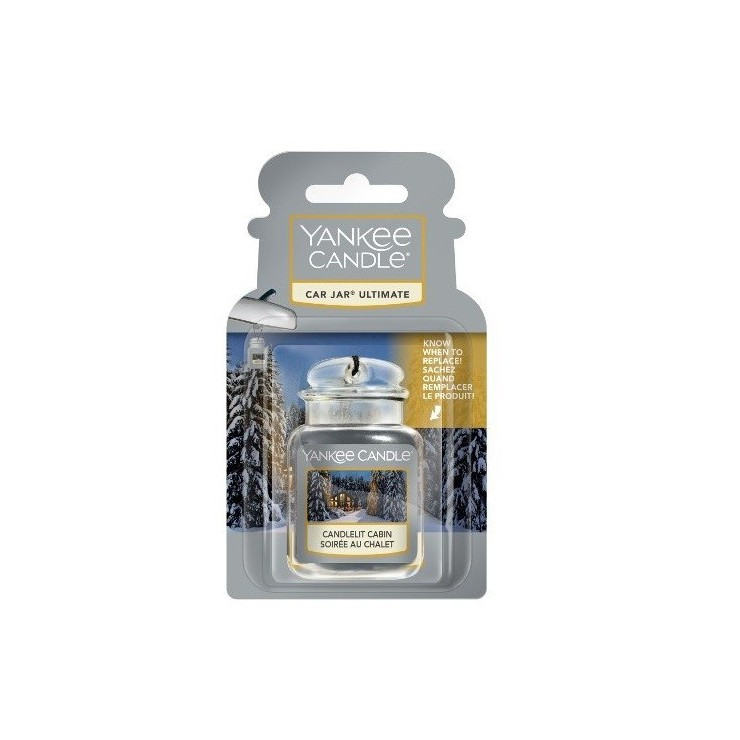 Car jar ultimate Candlelit Cabin Yankee Candle