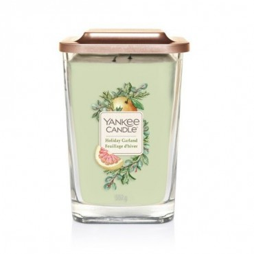 Elevation duża świeca Holiday Garland Yankee Candle