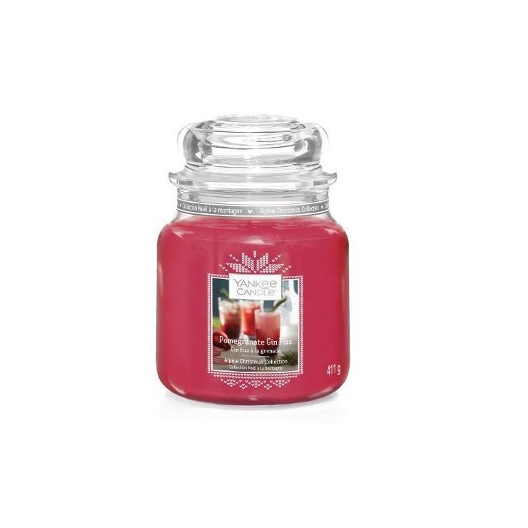 Średnia świeca Pomegrantate Gin Fizz Yankee Candle