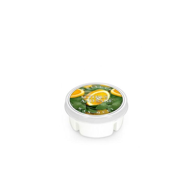 Wosk zapachowy Citrus and Sage - Cytryny i Szałwia