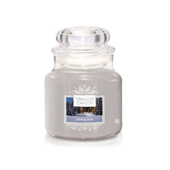 Mała świeca Candlelit Cabin Yankee Candle