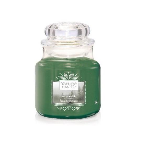 Mała świeca Evergreen Mist Yankee Candle
