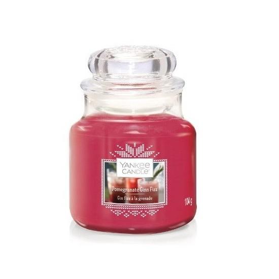 Mała świeca Pomegrantate Gin Fizz Yankee Candle