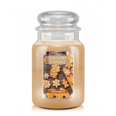 Duża świeca Gingerbread Country Candle