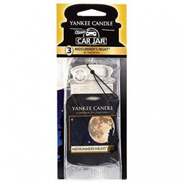 Car jar Midsummers Night Yankee Candle
