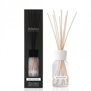 Pałeczki zapachowe 250ml White Mint & Tonka Millefiori Milano