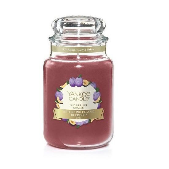 Duża świeca Sugar Plum Yankee Candle