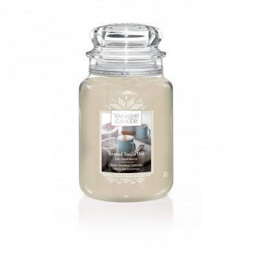 Duża świeca Streamed Vanilla Milk Yankee Candle