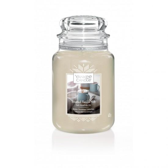 Duża świeca Steamed Vanilla Milk Yankee Candle