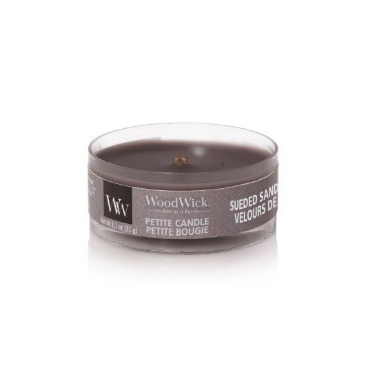 Świeca Petite Sueded Sandalwood WoodWick
