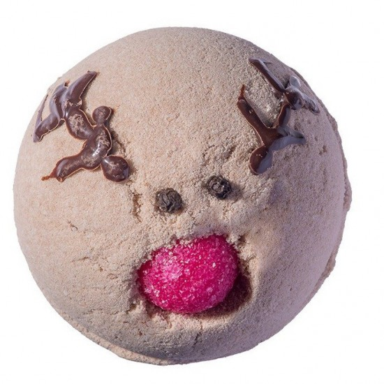 Musująca kula do kąpieli Run Rudolph Run Bomb Cosmetics