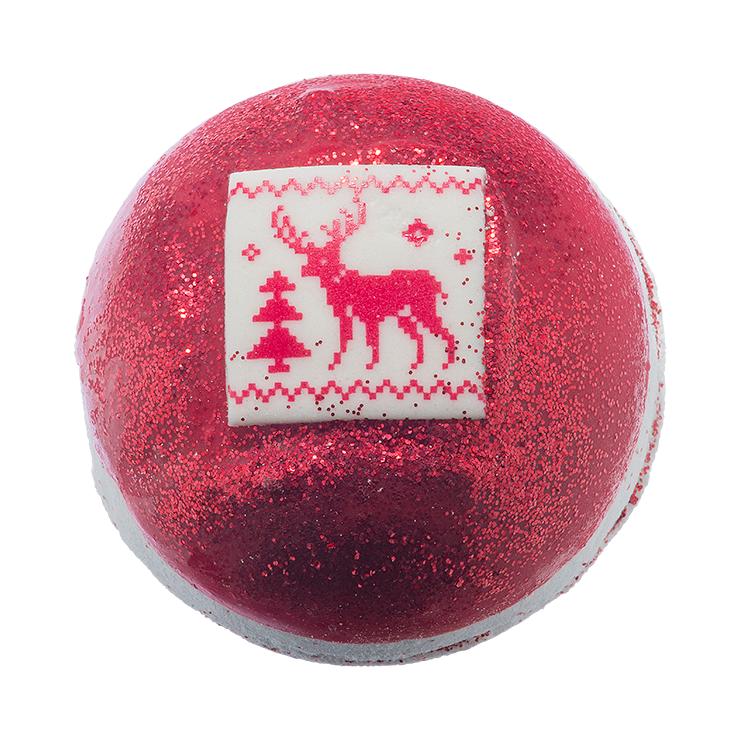 Musująca kula do kąpieli Świąteczny Sweterek Bomb Cosmetics