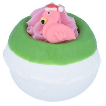 Musująca kula do kąpieli Flamingo Ho Ho Bomb Cosmetics