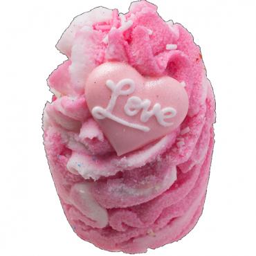 Babeczka do kąpieli P.S. KOCHAM CIĘ P.S. I Love You Bomb Cosmetics.