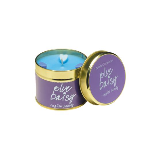 Świeca zapachowa w puszce Błękitna Stokrotka Bomb Cosmetics