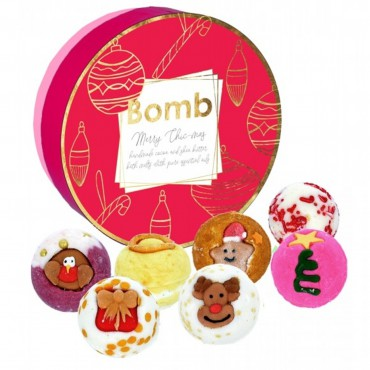Zestaw Upominkowy Merry Chic-mas Bomb Cosmetics