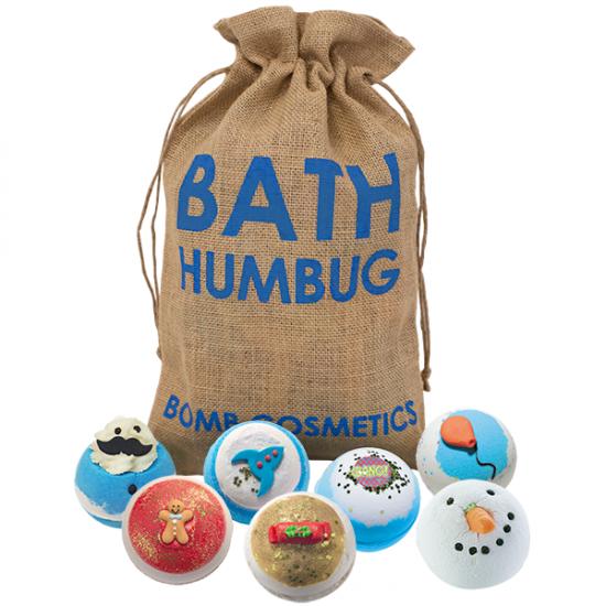 Zestaw upominkowy worek św. Mikołaja Bath Humbug Bomb Cosmetics