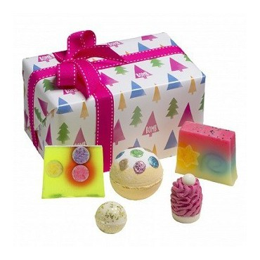 Zestaw upominkowy Christmas Tree Bomb Cosmetics