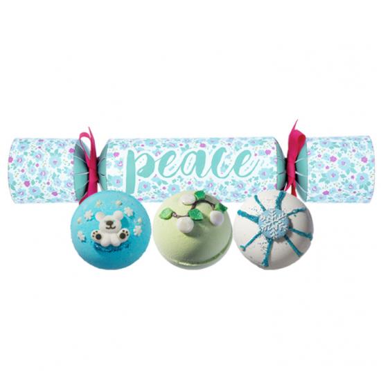 Zestaw upominkowy Peace Cracker Bomb Cosmetics