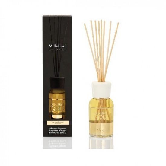 Pałeczki zapachowe 250ml Mineral Gold Millefiori Milano
