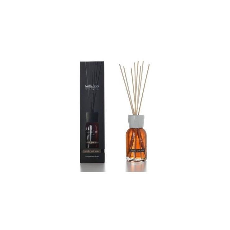 Pałeczki zapachowe 250ml Vanilla & Wood Millefiori Milano